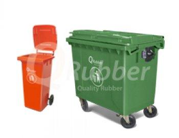 Contenedor de basura y Aseo